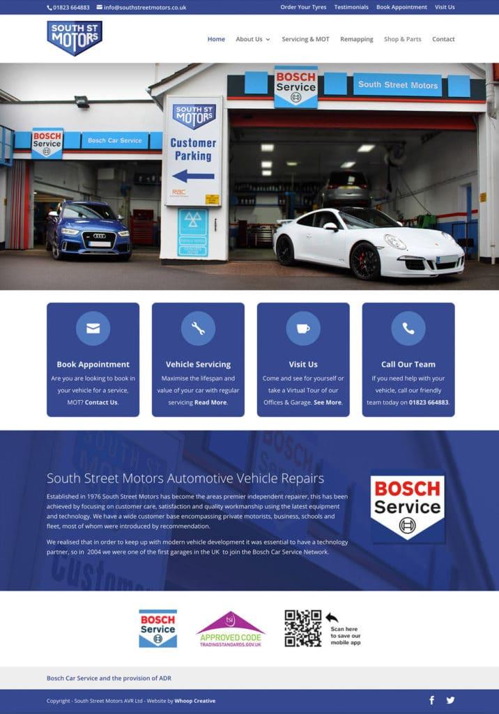 South Street Motors Website