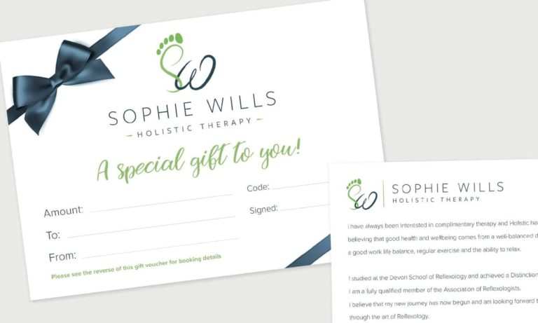 Sophie Wills Holistic Therapy Branding