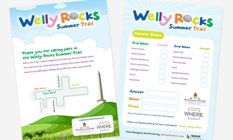 Welly Rocks Branding